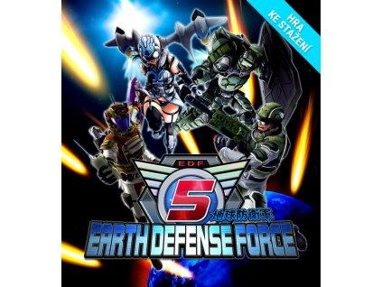 4166 earth defense force 5 steam pc