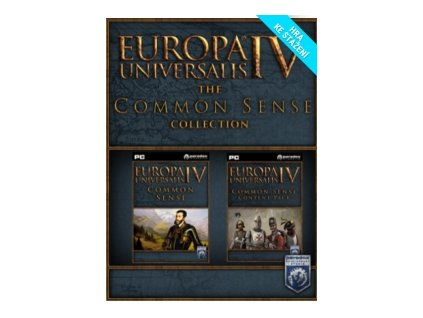 5927 europa universalis iv common sense collection dlc steam pc