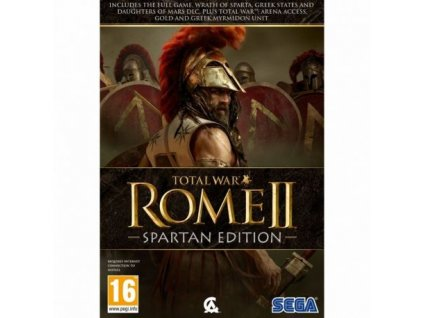 total war rome 2 spartan edition hra na pc strategie