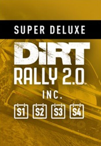 Codemasters DiRT Rally 2.0 Super Deluxe Edition Steam PC