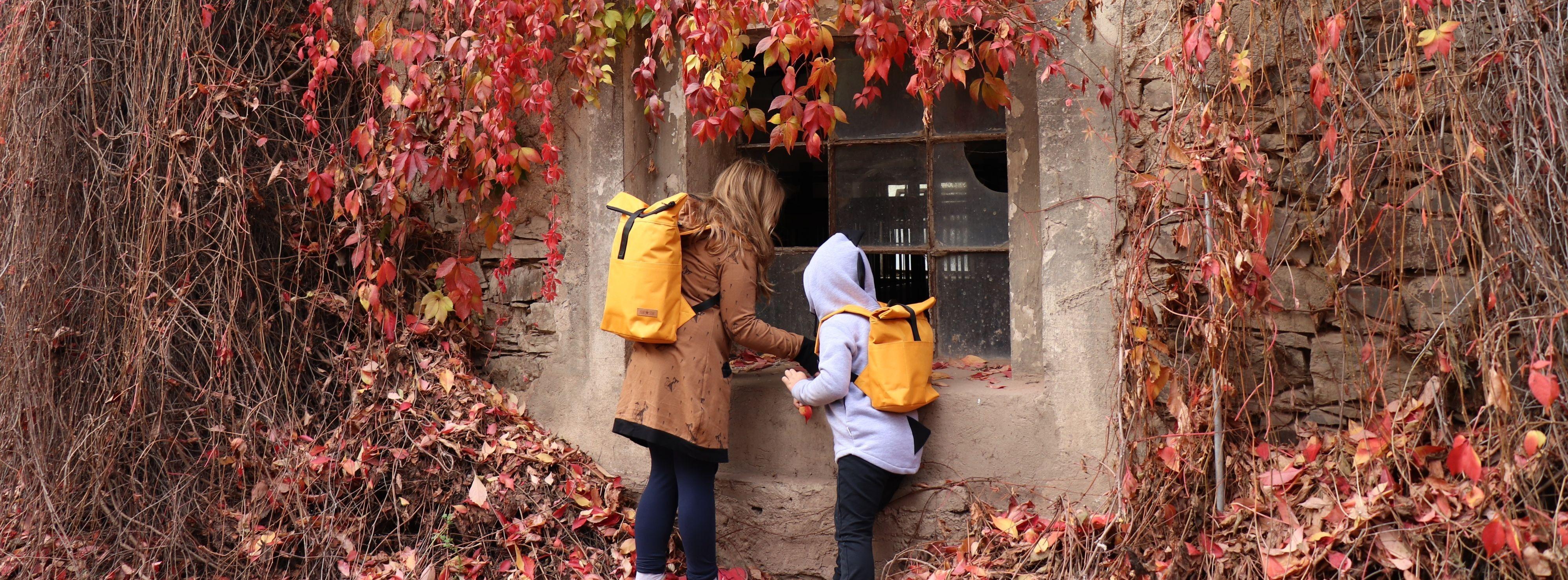 Podzim deti K a M