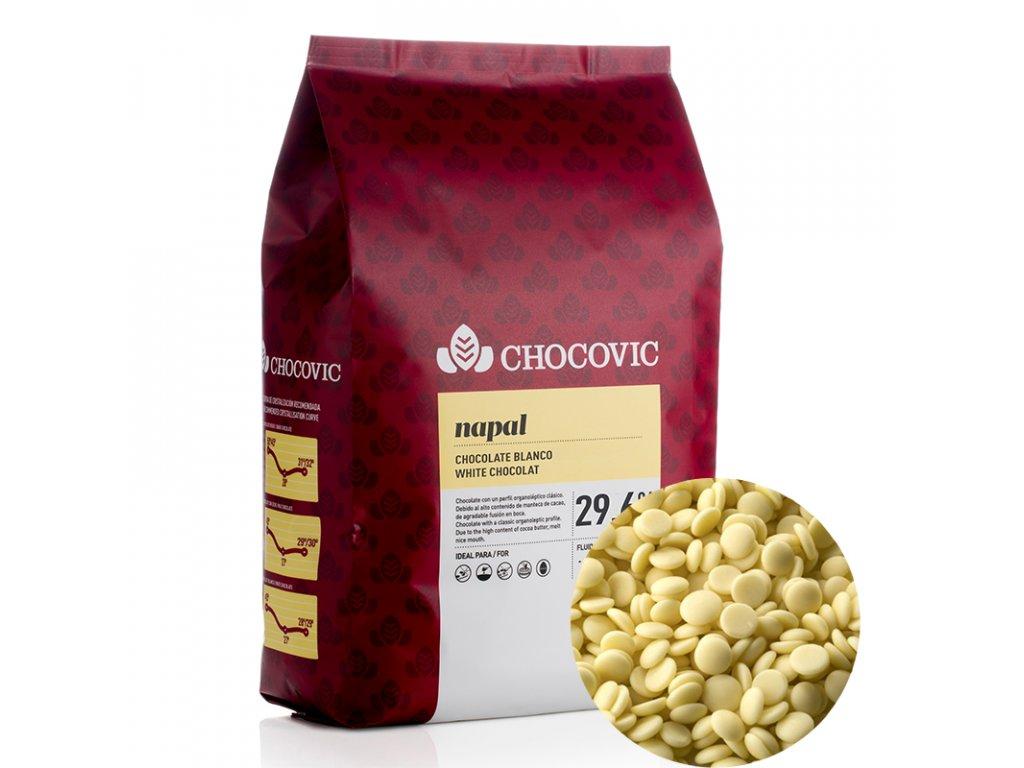 3102 2 cokolada biela napal 5kg