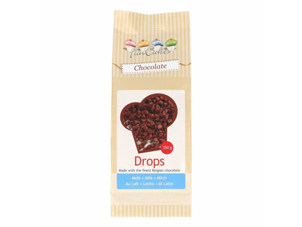 4500 1 fc drops cokoladky milk 350g mliecne