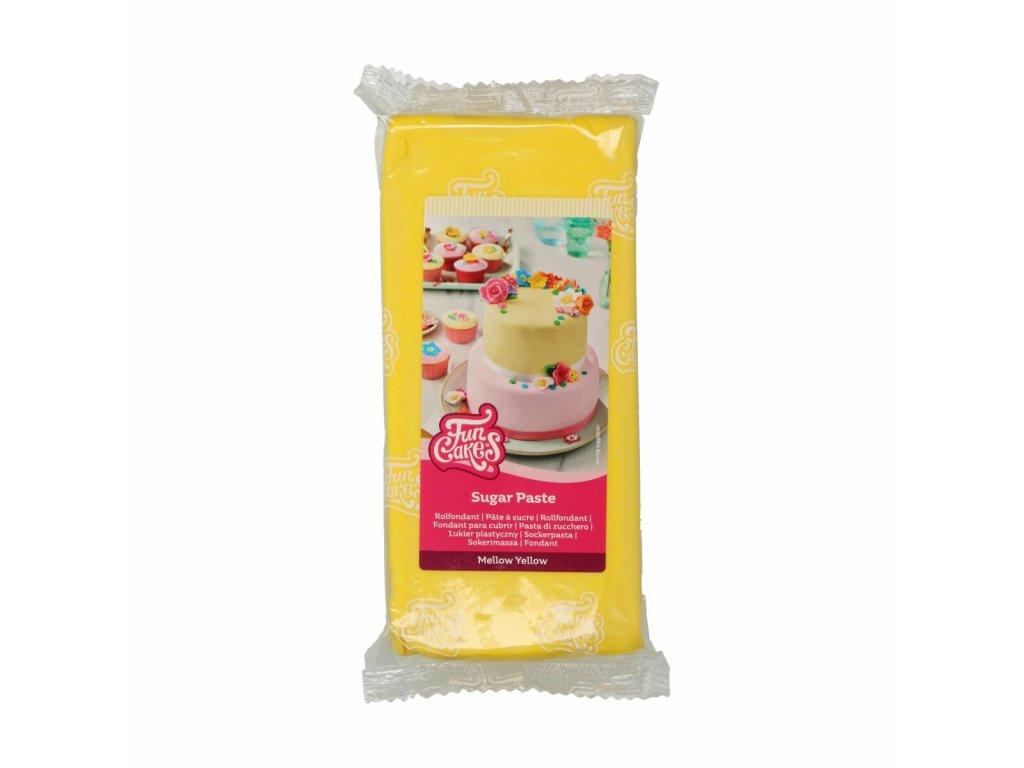 4533 1 fc fondant 1kg mellow yellow zlta