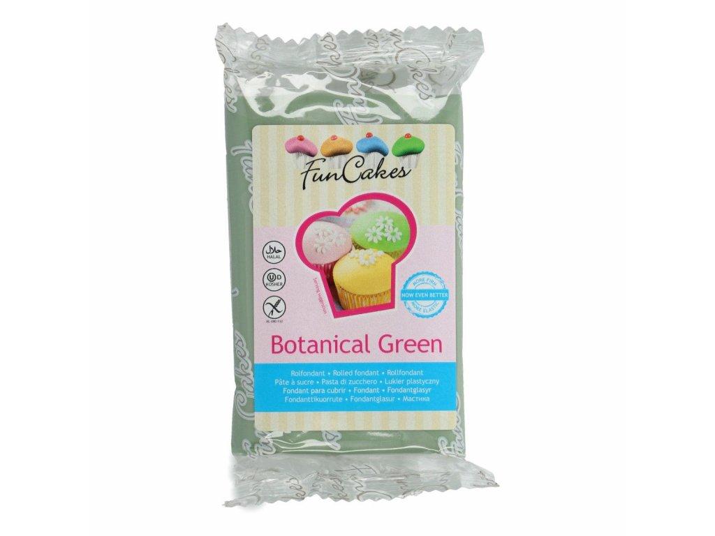 4548 1 fc fondant 250g botanical green zelena
