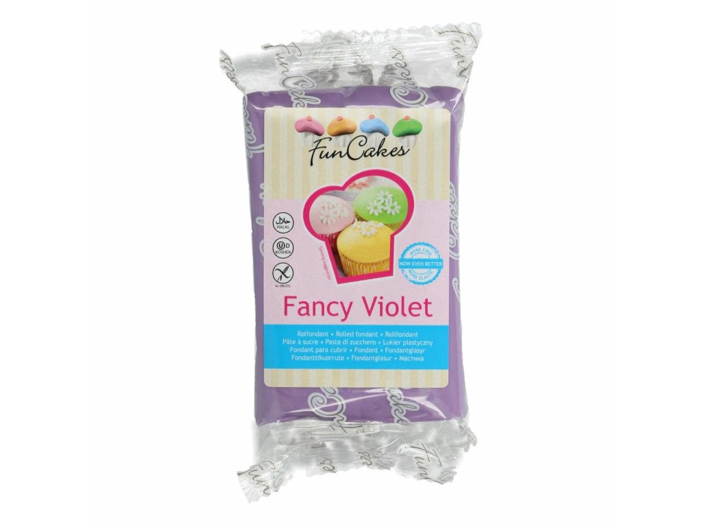 4557 1 fc fondant 250g fancy violet fialova