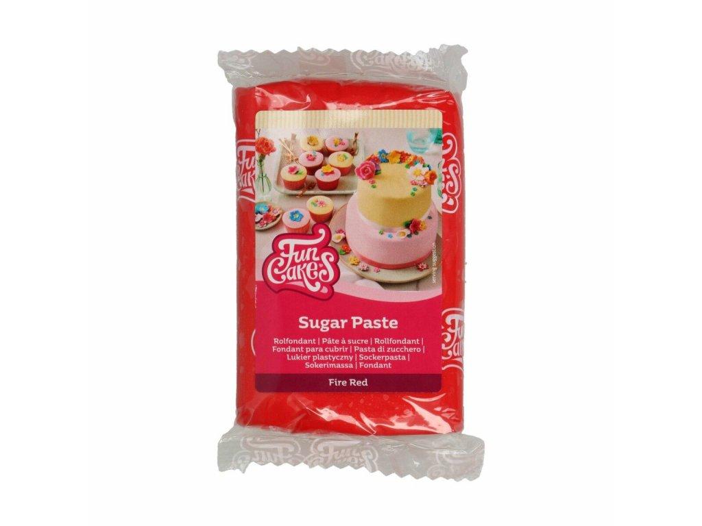 4560 1 fc fondant 250g fire red cervena