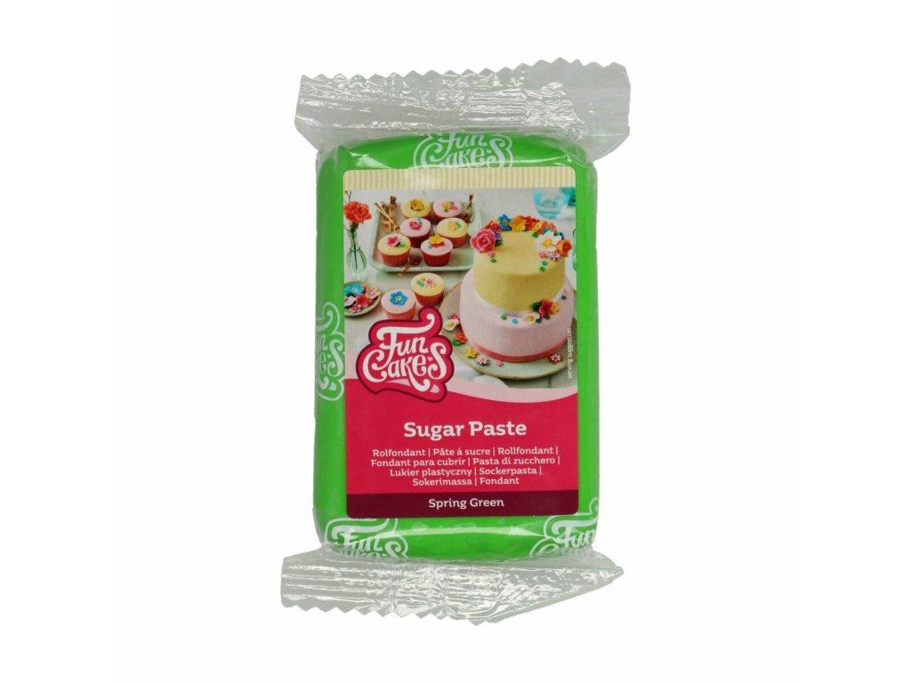 4602 1 fc fondant 250g spring green zelena
