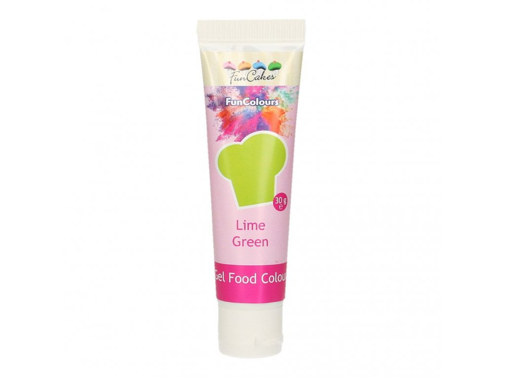 4680 2 fc gelova farba 30g lime green zelena