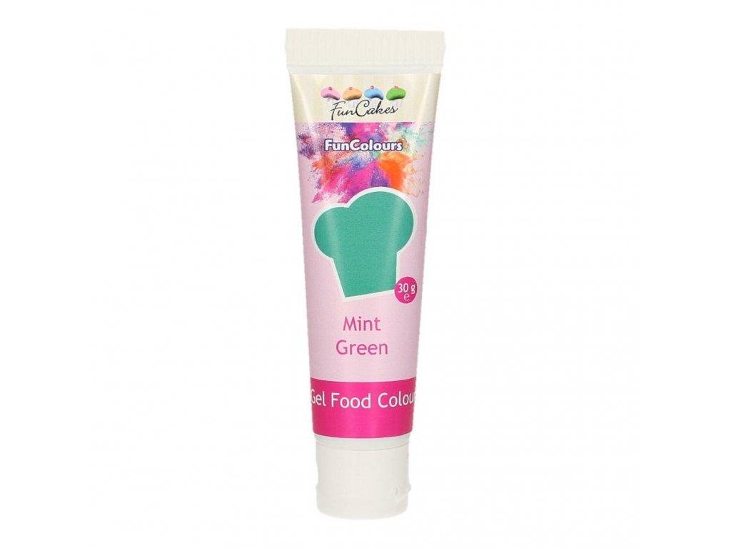 4683 1 fc gelova farba 30g mint green zelena