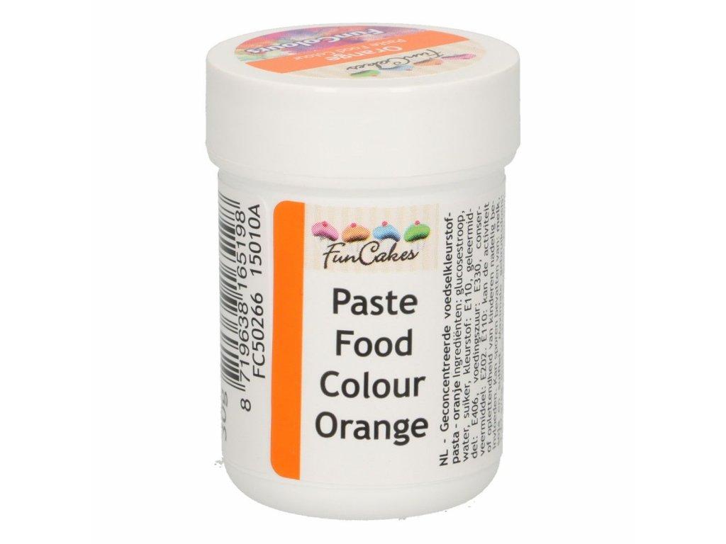 4689 1 fc gelova farba 30g orange oranzova v kelimku