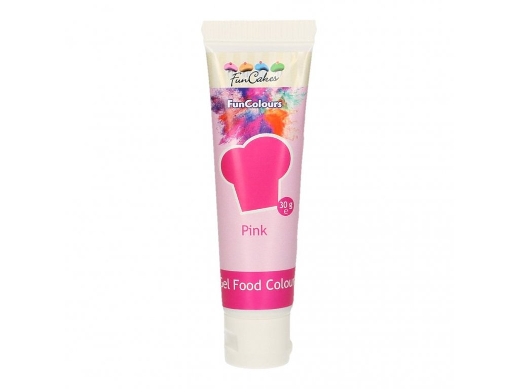4698 1 fc gelova farba 30g pink ruzova