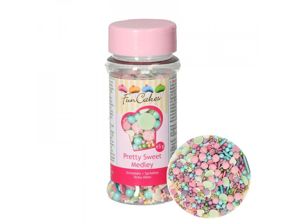 5199 1 fc posyp sprinkle medley pretty sweet 65g