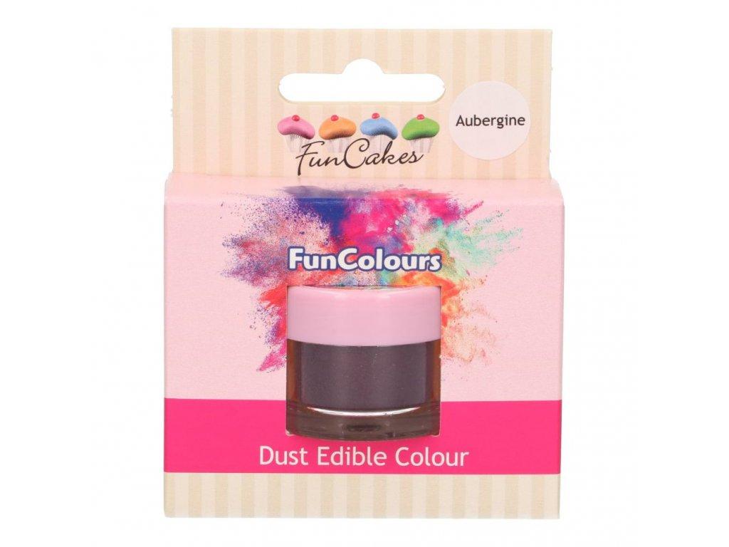 5235 3 fc prachova farba aubergine fialova