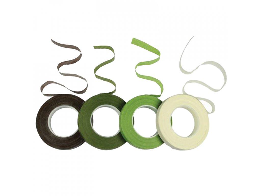 5388 1 floristicka paska tm zelena 12mm