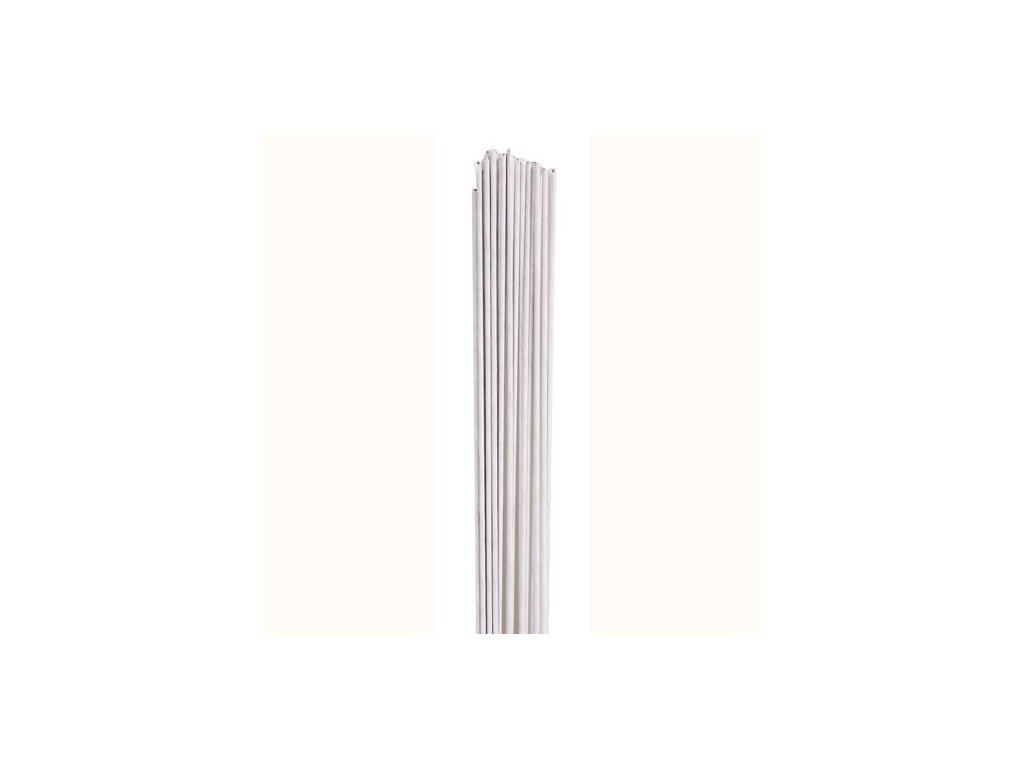 5391 1 floristicky drotik biely 18