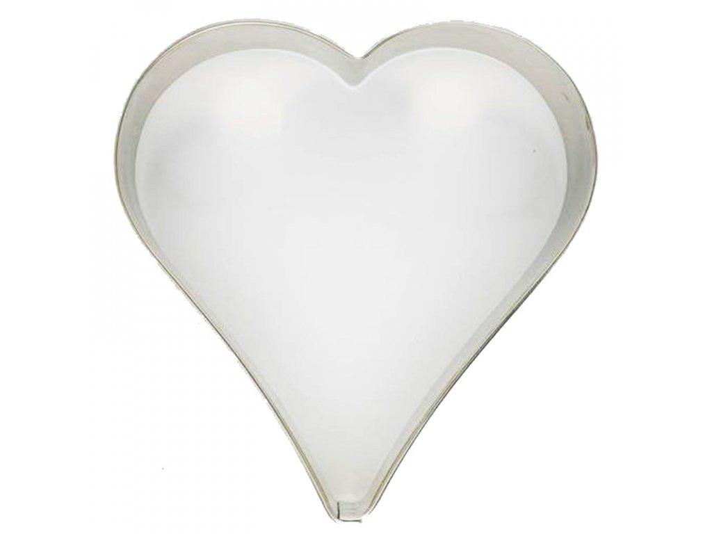 6060 1 kovova vykrajovacka srdce 10cm