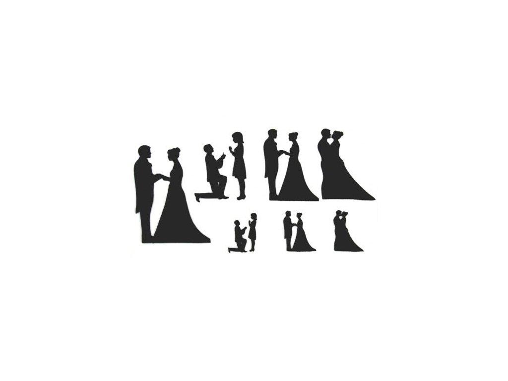 6144 2 patchwork vykrajovacka svadobne siluety