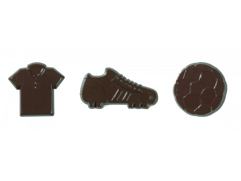 6561 1 cokoladova dekoracia fotbalova sada 295ks 71260