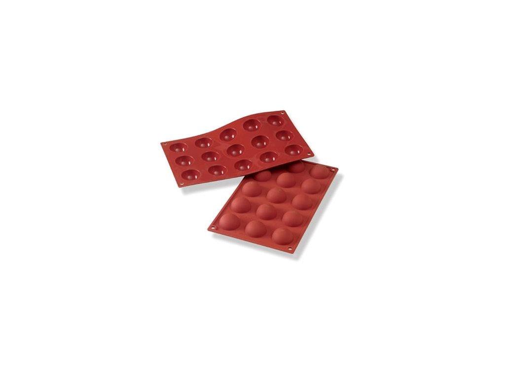 6813 1 silikonova forma pologule pr 4cm sf005