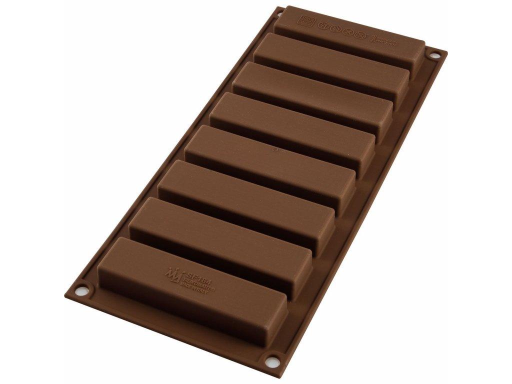 Forma Silikomart čokoládové tyčinky