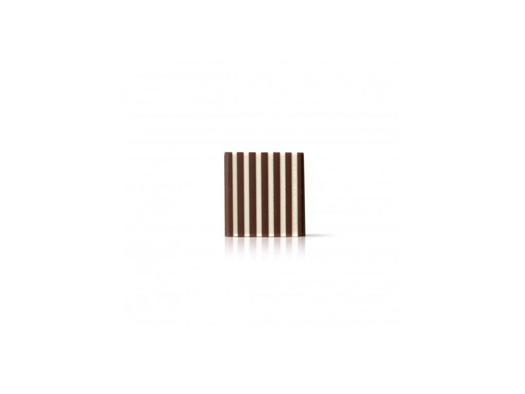Čokoládová dekorácia domino kocka 3,5cm cca 500ks ( 72213)