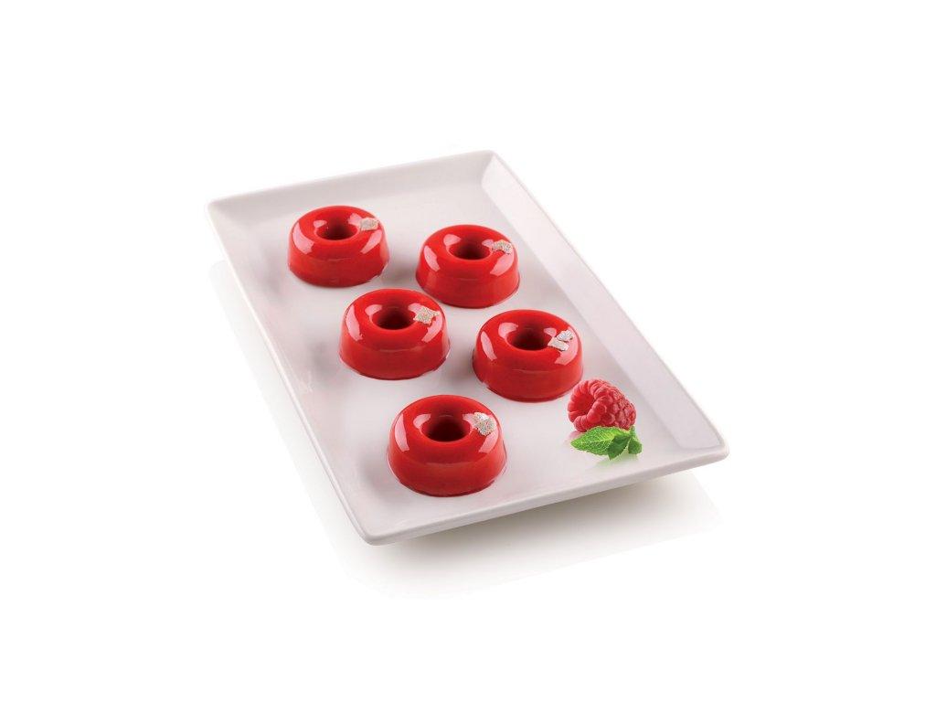 8748 silikonova forma na mini donutky silikomart