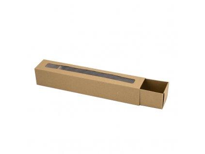 4206 1 krabicka na makaronky eko s okienkom 272x46x46