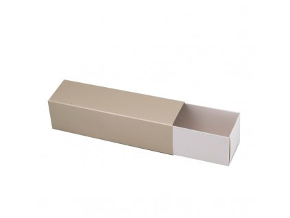 4209 1 krabicka na makaronky glamour champagne 160x45x45