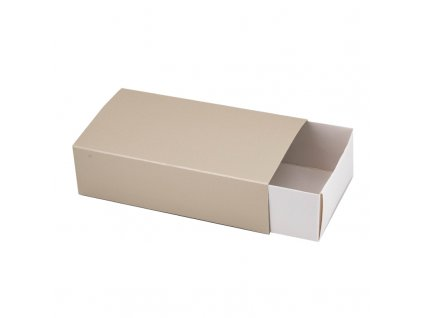4212 1 krabicka na makaronky glamour champagne 160x90x45