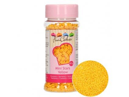 4425 1 fc posyp mini stars yellow 60g