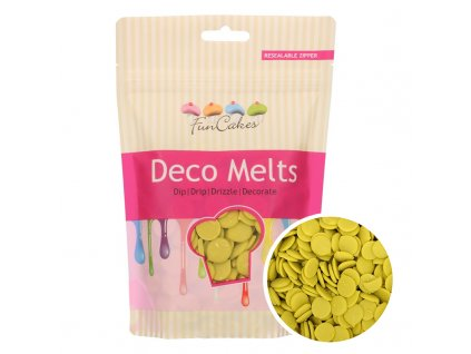4464 1 fc deco melts lime green limetkove 250g