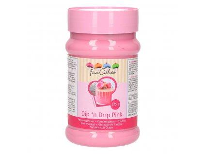 4488 1 fc dip n drip pink ruzova 375g