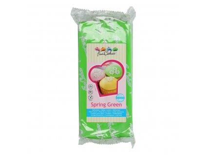 4542 1 fc fondant 1kg spring green zelena