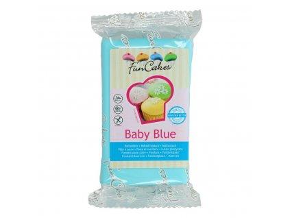 4545 1 fc fondant 250g baby blue modra