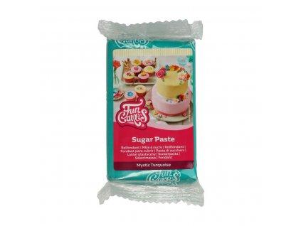 4578 1 fc fondant 250g mystic turquoise tyrkysova