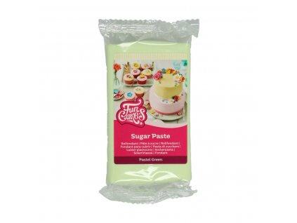 4584 1 fc fondant 250g pastel green zelena