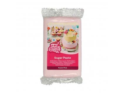 4590 1 fc fondant 250g pastel pink ruzova