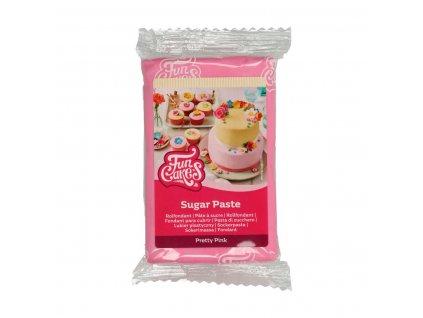 4593 1 fc fondant 250g pretty pink ruzova