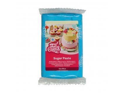 4599 1 fc fondant 250g sea blue modra