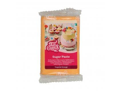 4614 1 fc fondant 250g tropical orange oranzova