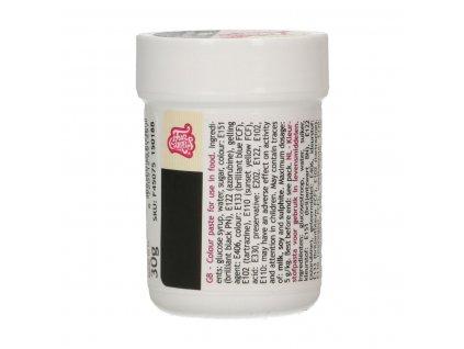 4647 1 fc gelova farba 30g black cierna v kelimku