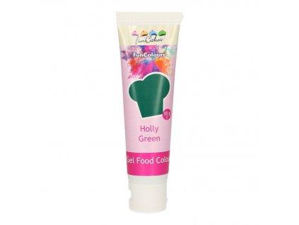4665 2 fc gelova farba 30g holly green zelena