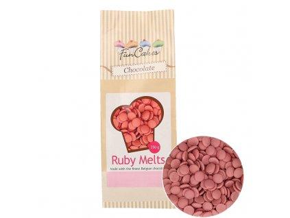 4794 1 fc melts cokoladky ruby 250g