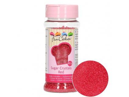 4962 1 fc posyp cukrovy krystal cerveny 80g
