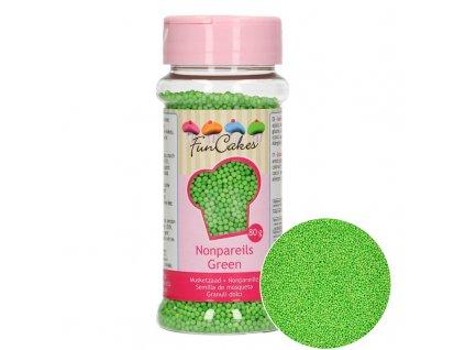 5031 1 fc posyp nonpareils 80g green zelena