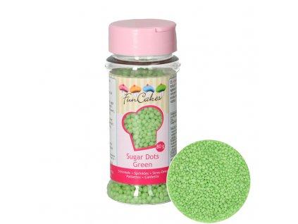 5094 1 fc posyp perlicky male zelene 80g