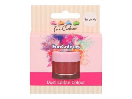 5244 3 fc prachova farba burgundy bordova