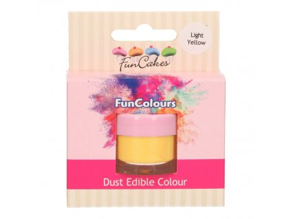 5274 3 fc prachova farba light yellow zlta
