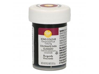 5640 1 gelova farba 28g w burgundy cyklamenova